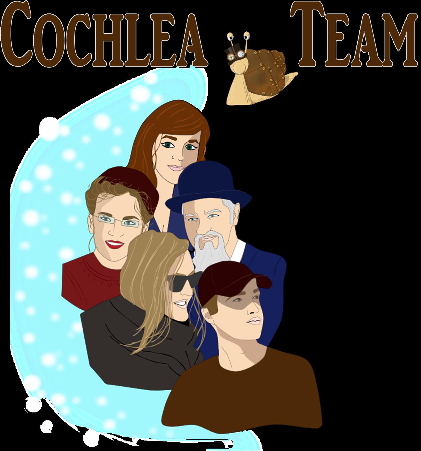 Visuel_groupe_Cochlea Team